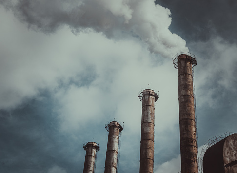 Dangerous toxic emissions in the atmosphere