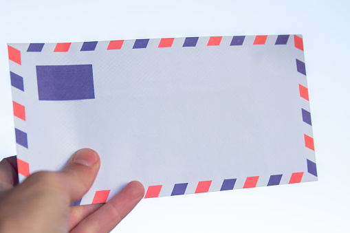 istock Air envelope of the letter. 1089464388