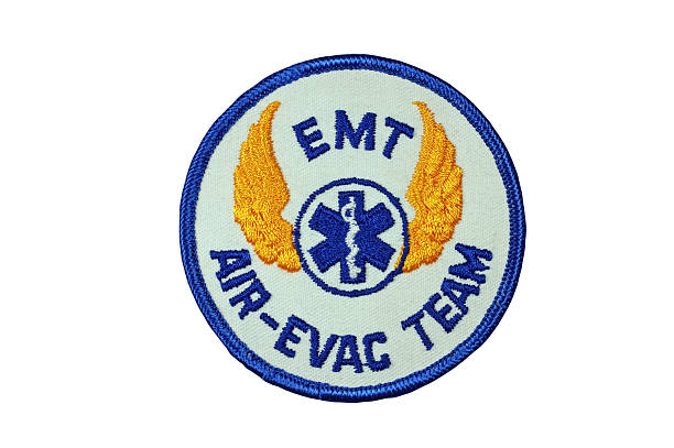 EMT Air Evacuation Rescue Personnel Patch stock photo