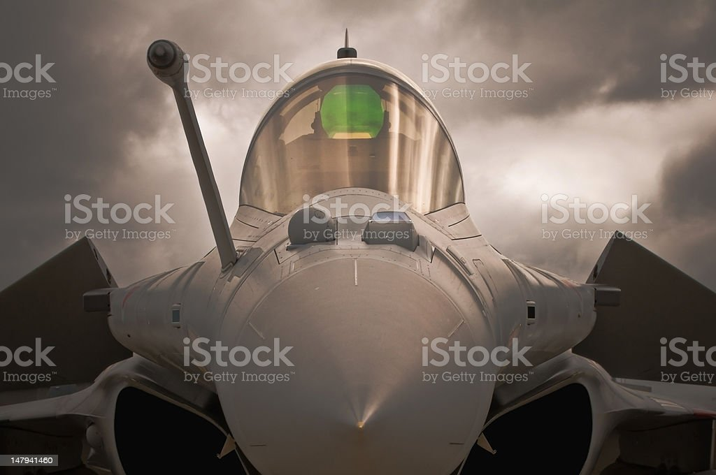 air fighter stock photo