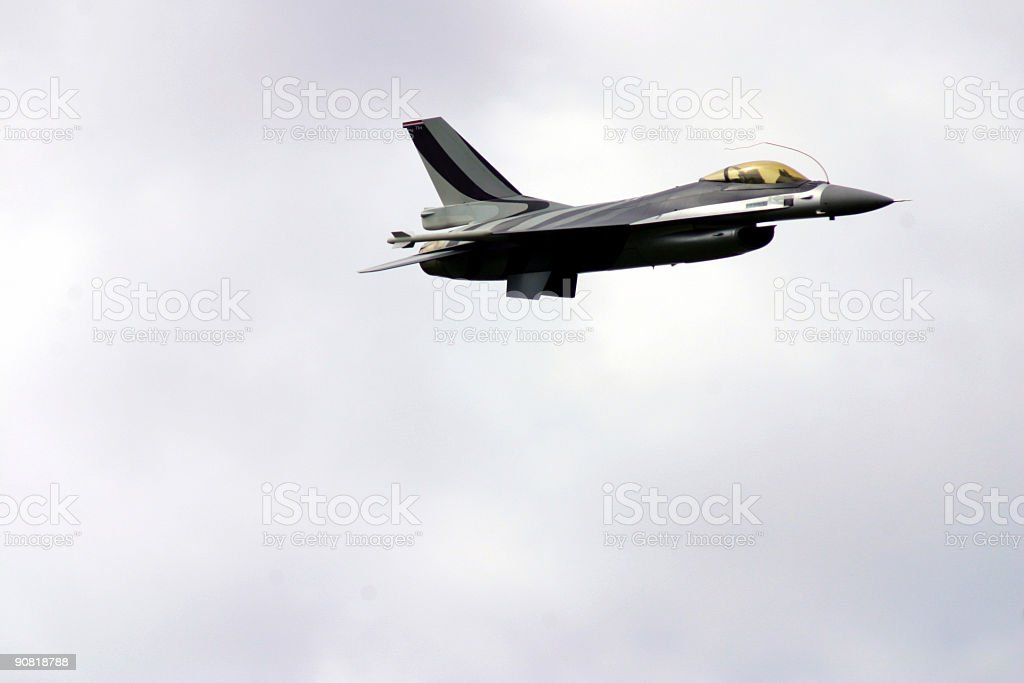 Air fighter royalty-free stock photo