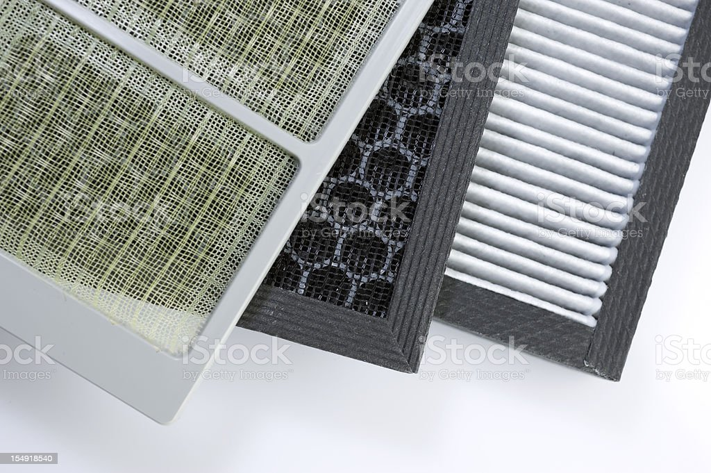Air filter stock photo