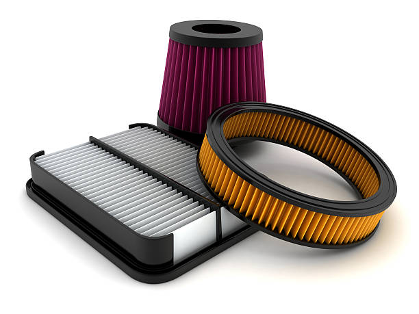 Air filter Air filter car (done in 3d) air filter stock pictures, royalty-free photos & images