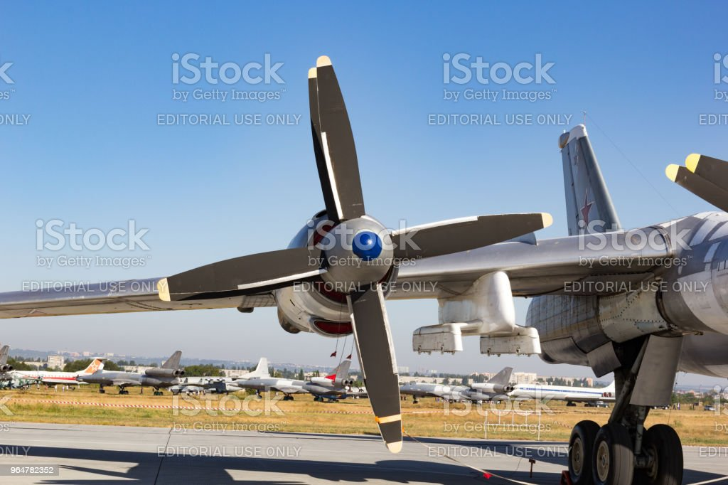 Air Fleet Day. Air propeller royalty-free stock photo