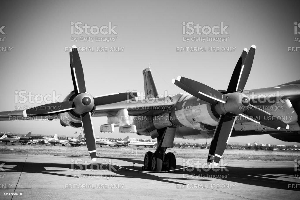 Air Fleet Day. Air propeller royalty-free stock photo