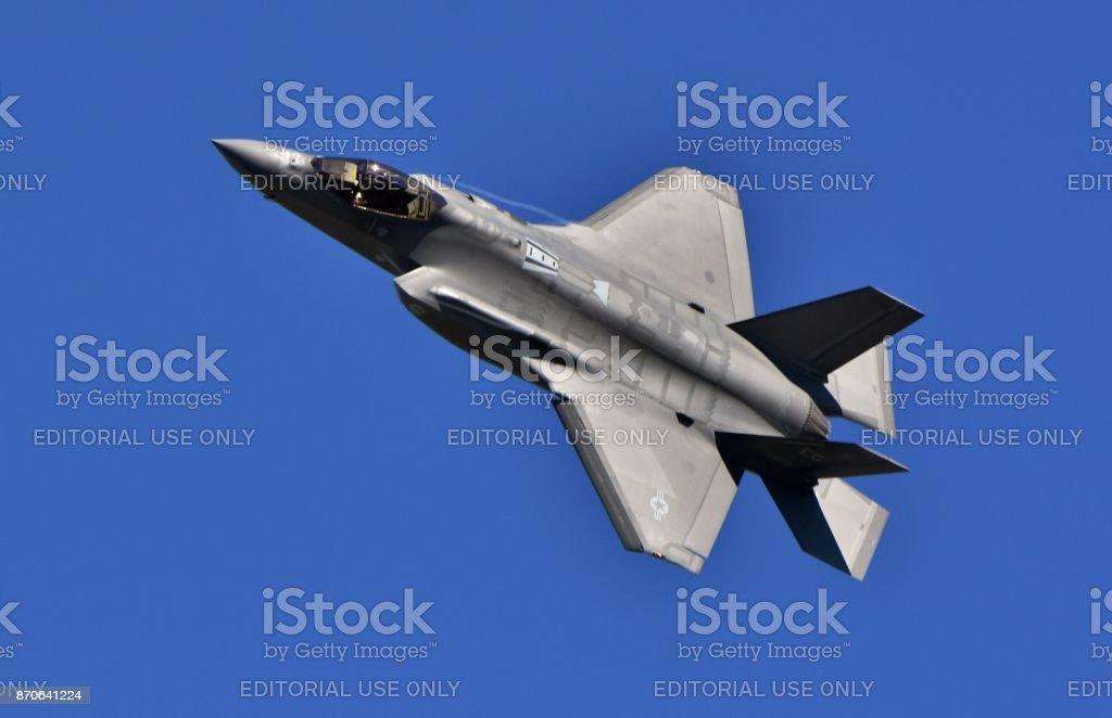 Fuerza aérea F-35 conjunto Strike Fighter - foto de stock