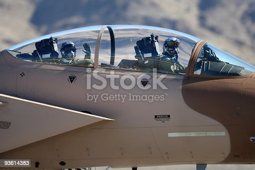 istock Air Force Fighter Pilots 93614383