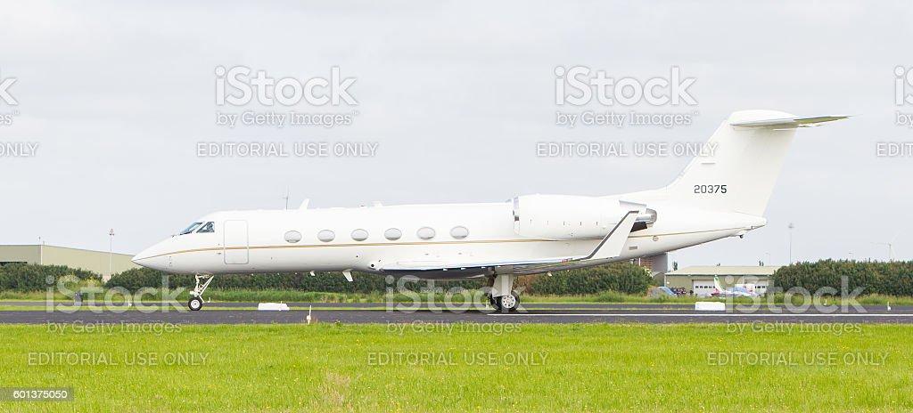 Air Force Gulfstream Aerospace C-20H stock photo