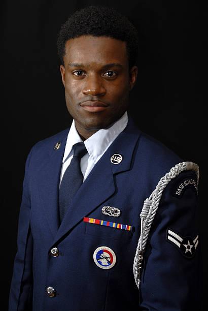 Air Force Man stock photo