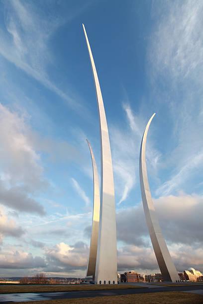 Air Force Memorial stock photo