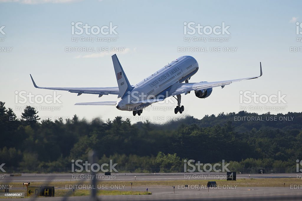 Air Force One stock photo