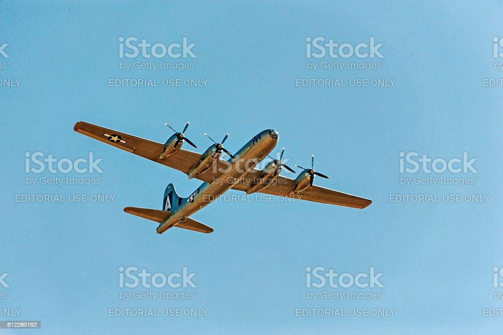 Air Force Plane B-29 Super Fortress FIFI - foto stock