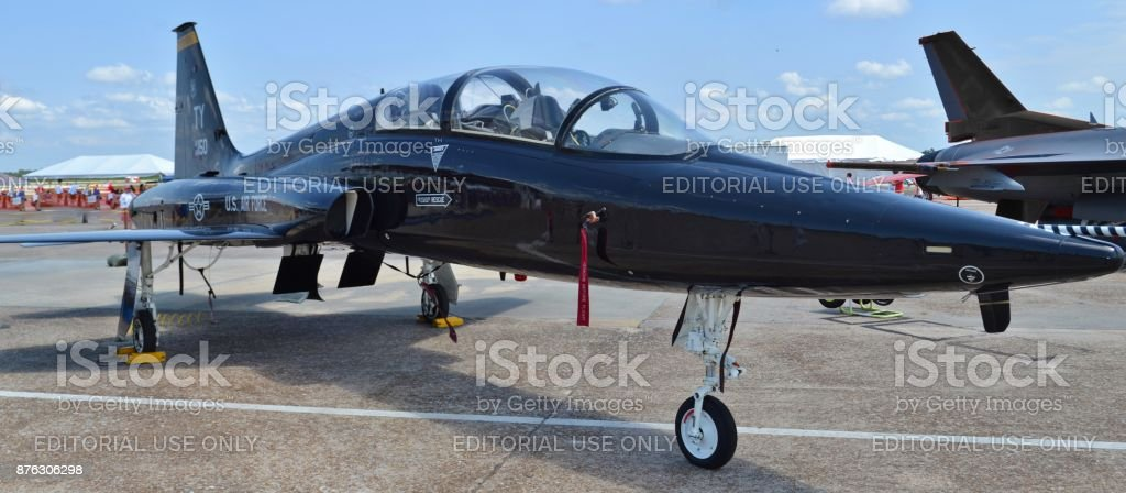 Air Force T-38 Talon stock photo