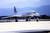 Front shot of Concorde