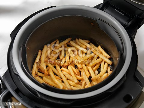 Air Fried, Crispy French Fries