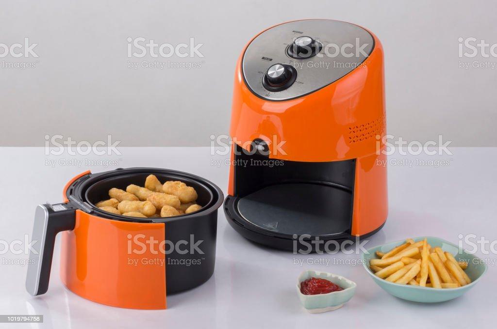 Máquina de ar fritadeira - foto de acervo