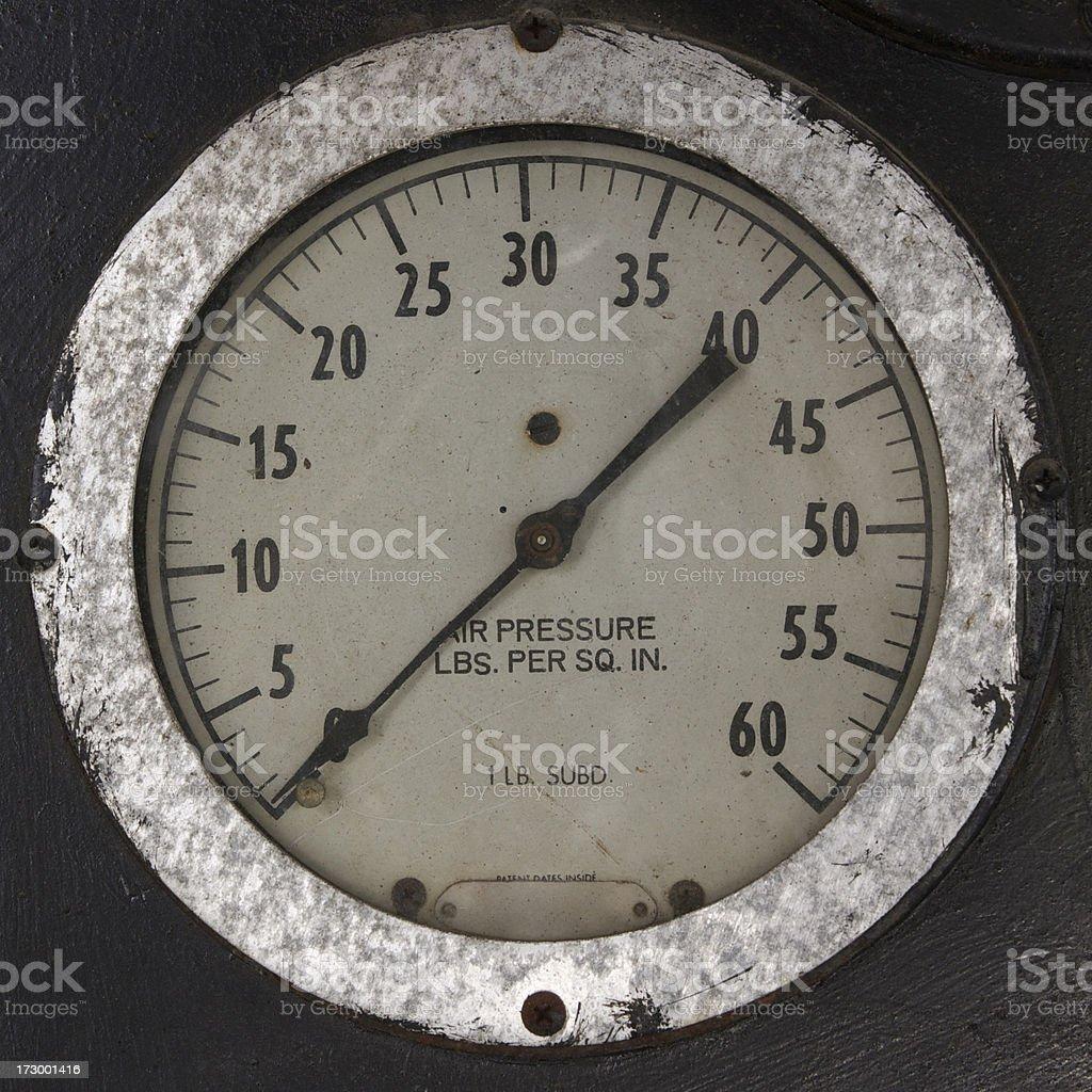 air gauge stock photo