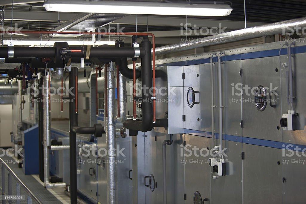 Air handling unit stock photo