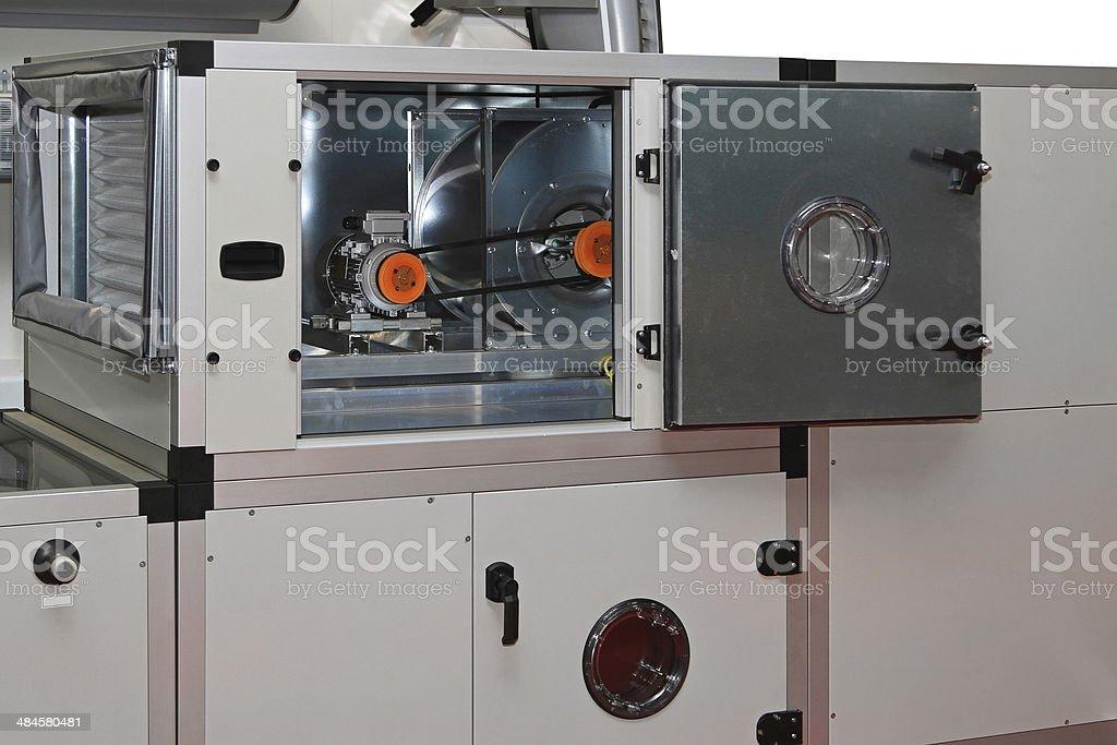 Air handling units stock photo