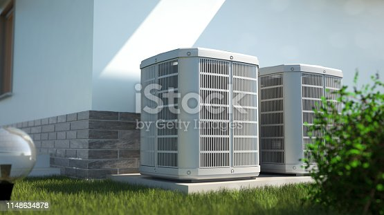 alternative energy concept - 3D illustration