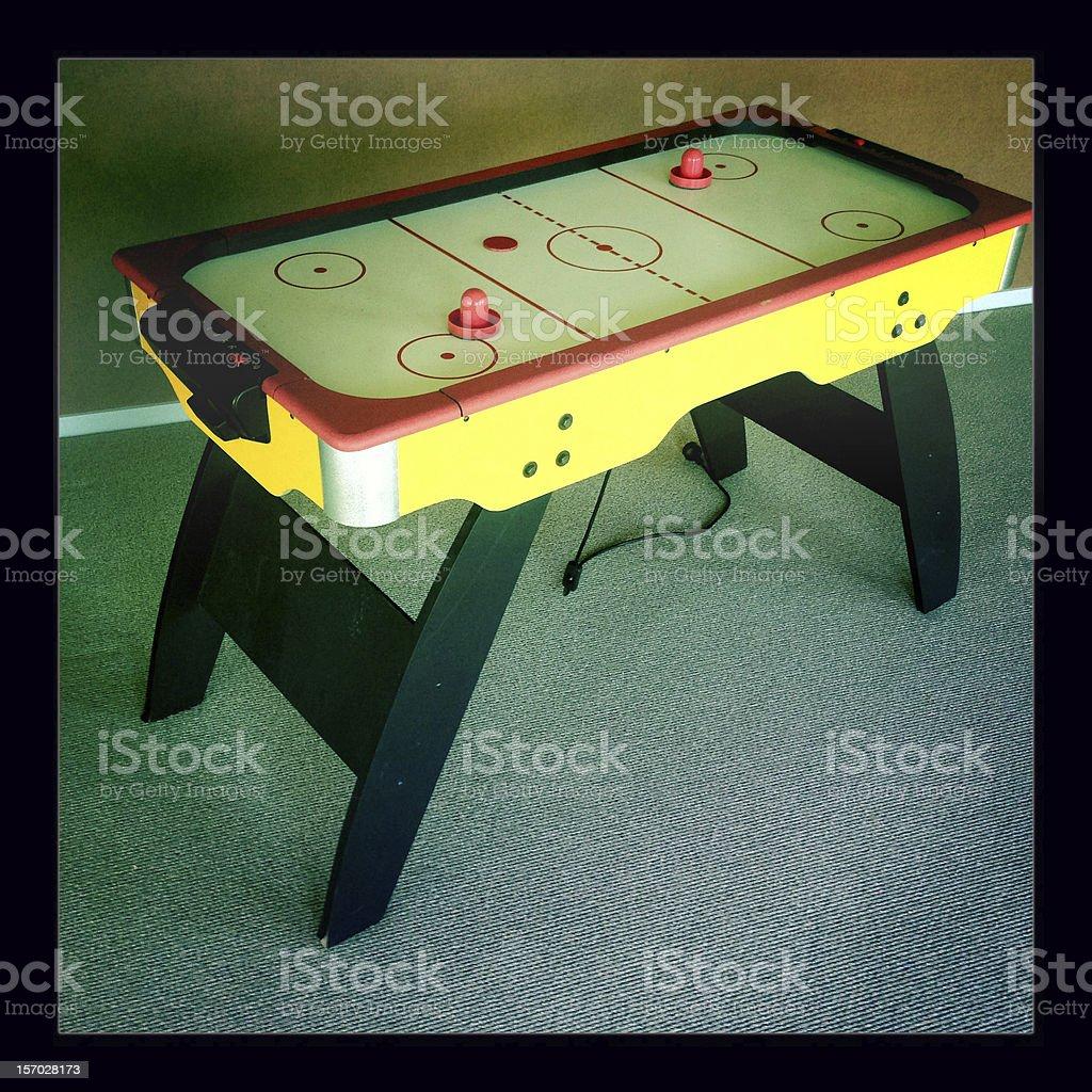 Mesa de hóquei de mesa - foto de acervo