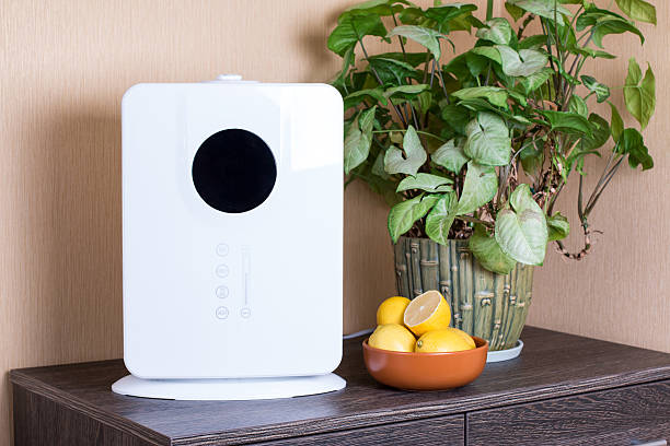 air humidifier - luftfilter stock-fotos und bilder