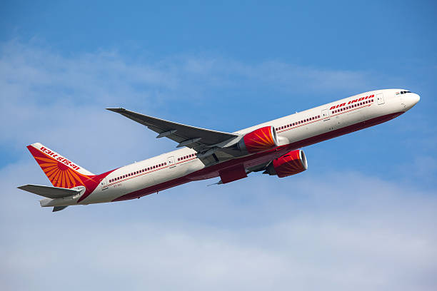 Air India Boeing 777-300ER stock photo