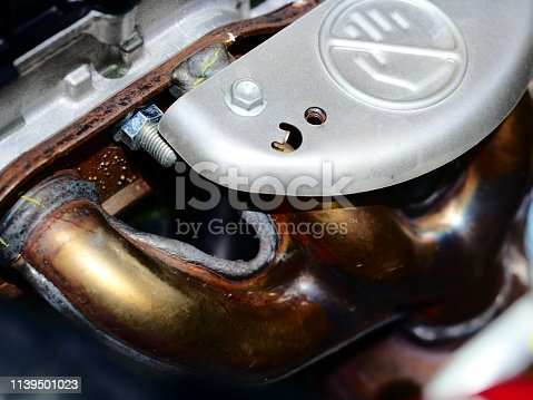 518201052istockphoto Air intake tubes with Exhibition pipe 1139501023