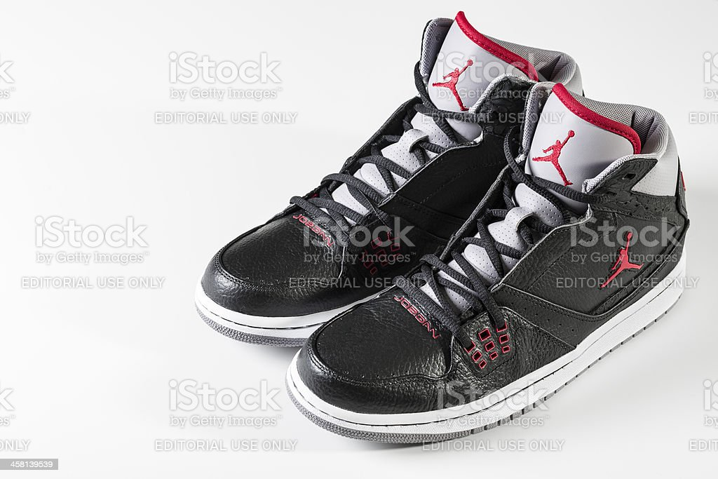 Air Jordans stock photo