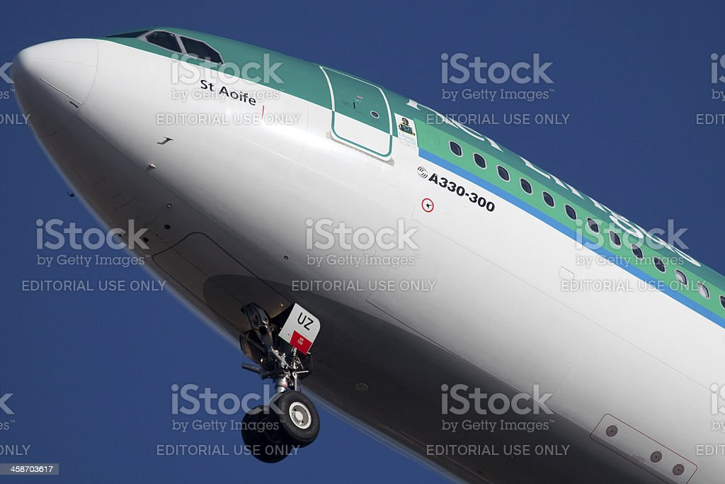 Aer Linus Airbus A330 stock photo