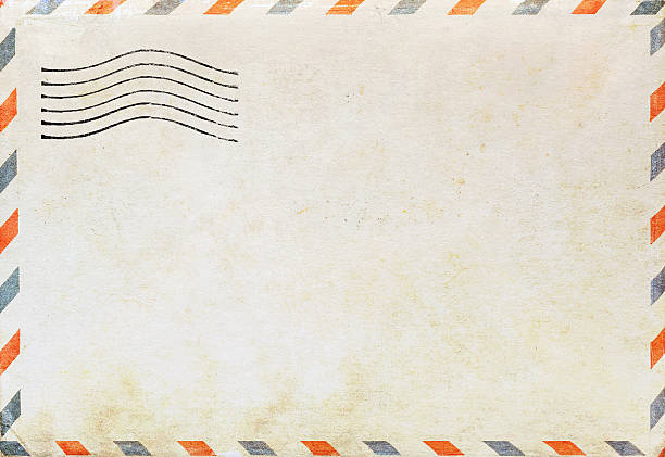 Air mail envelope – Foto