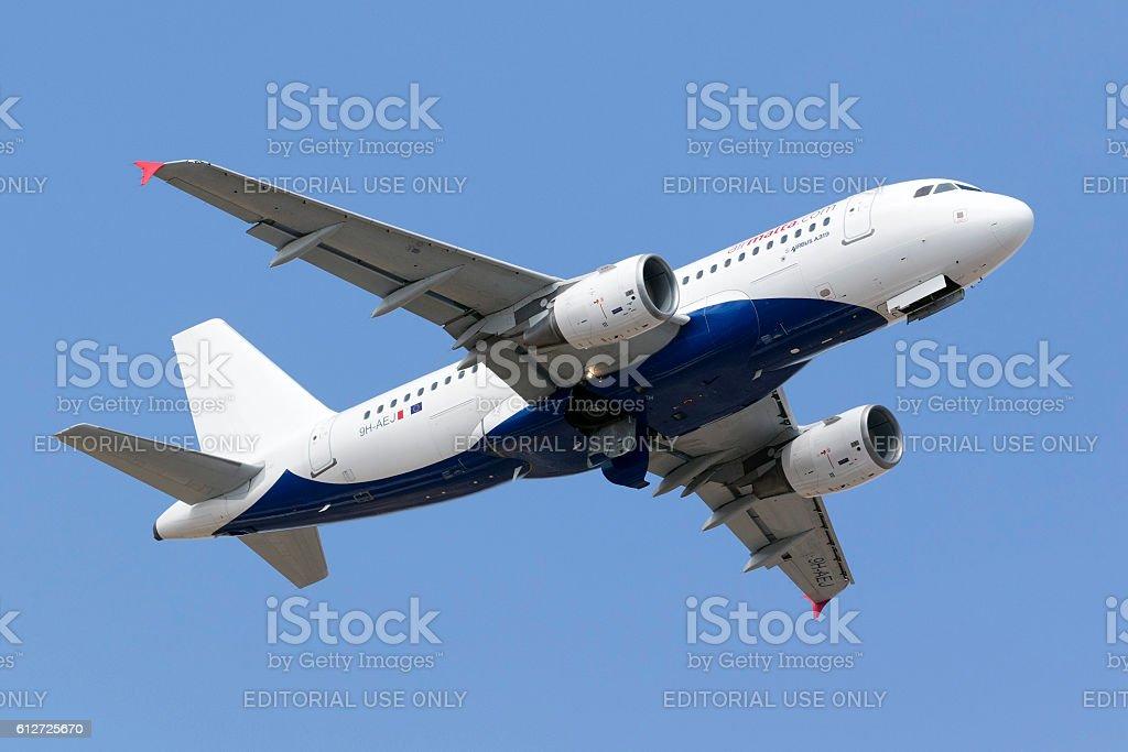 Air Malta Airbus in hybrid livery – Foto