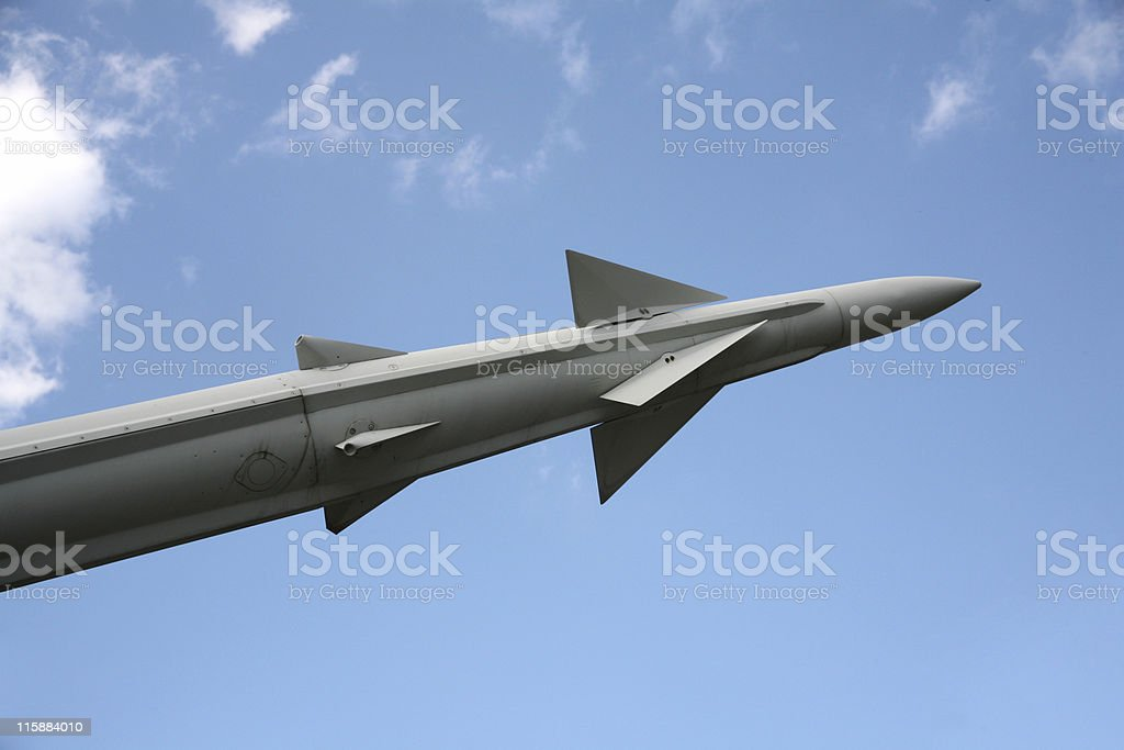 Air Missile stock photo