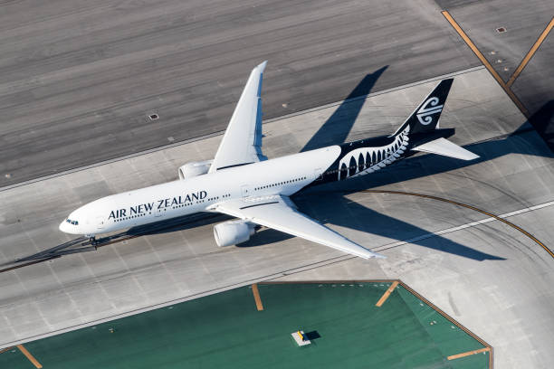 Air New Zealand Boeing 777 stock photo