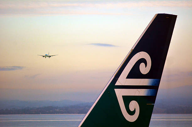 Air New Zealand stock photo