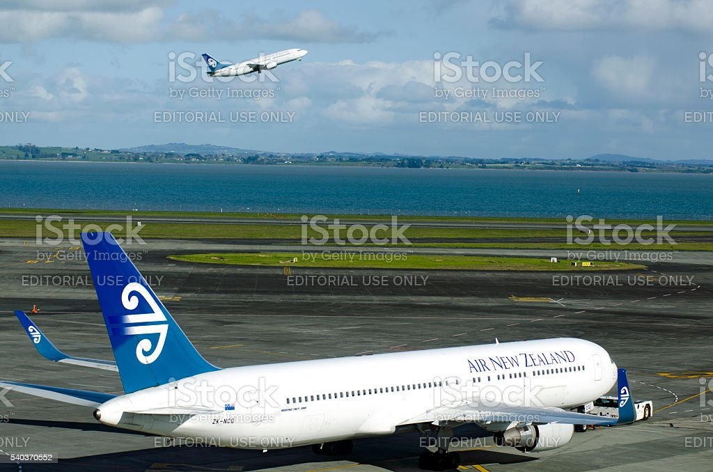 Air New Zealand stock photo