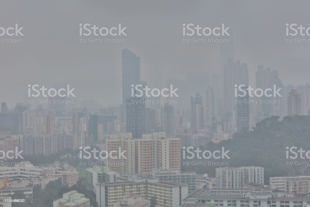 空氣污染面對香港的問題圖像檔