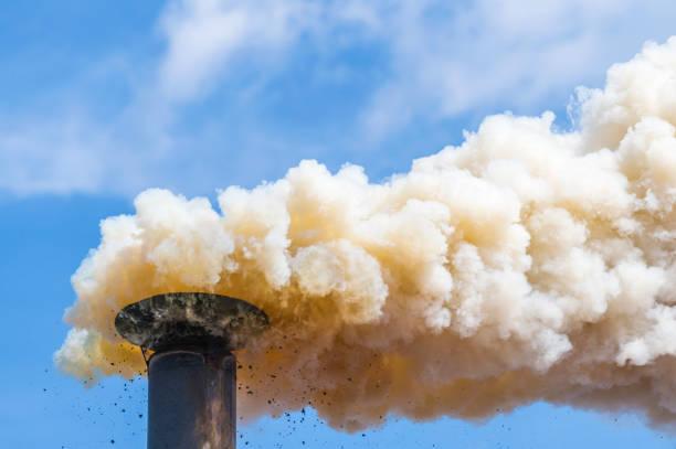 la contaminación atmosférica - contaminación ambiental fotografías e imágenes de stock