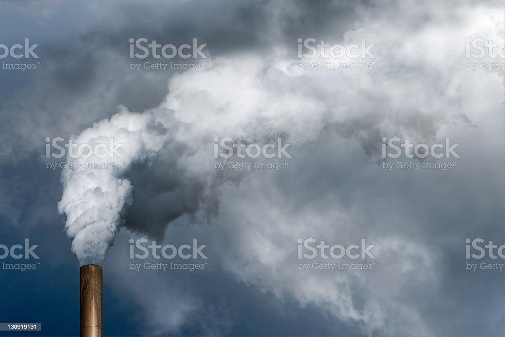 XXL Luftverschmutzung – Foto