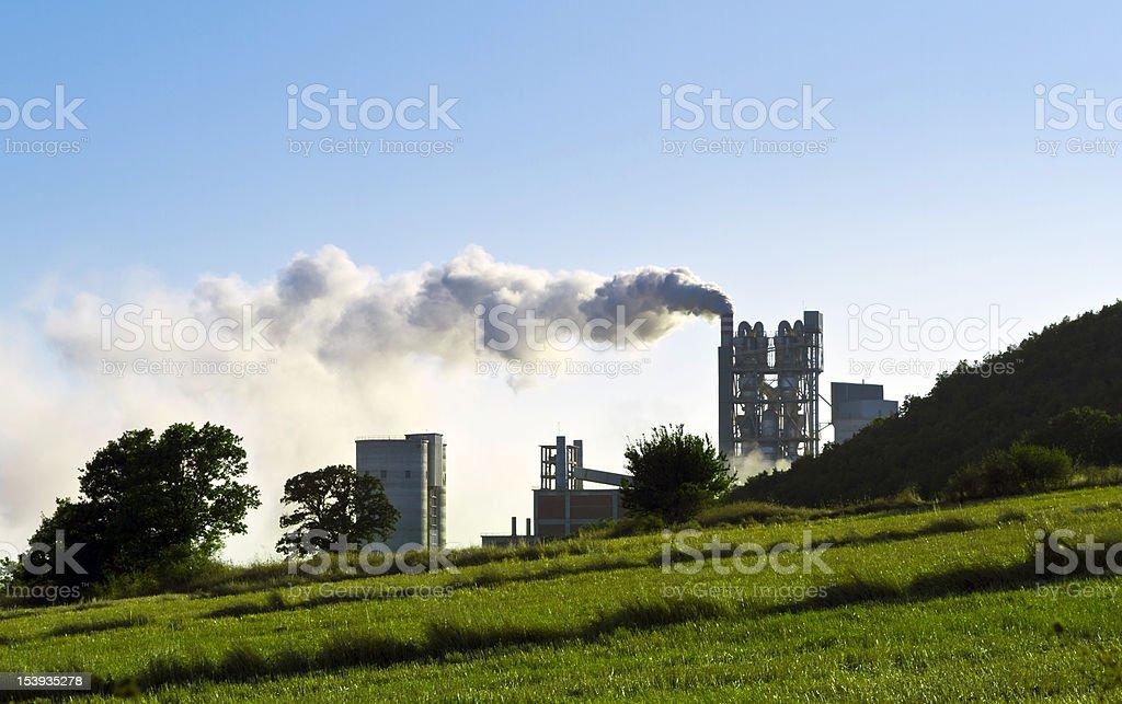 Air pollution foto