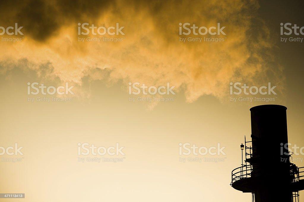 Air Pollution stock photo