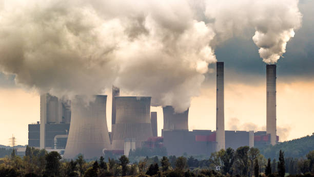 air pollution - coal stock pictures, royalty-free photos & images