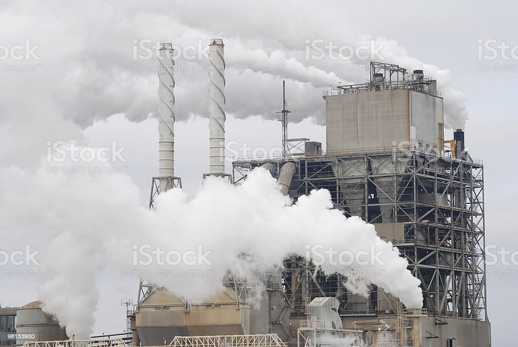 Air Pollution Smog royalty-free stock photo