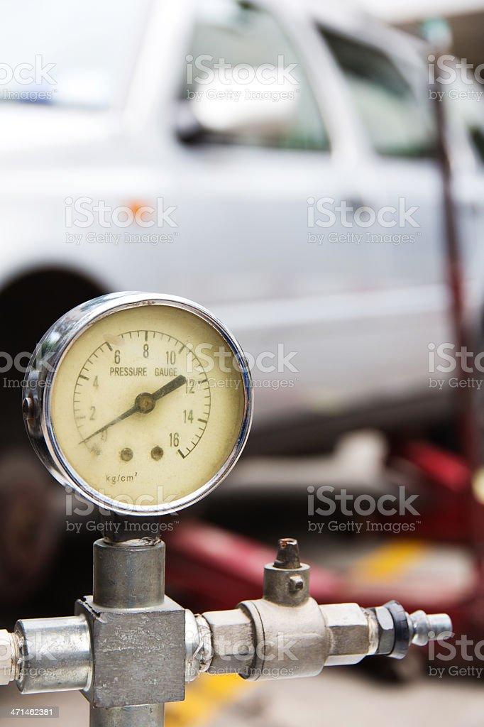 air pressure royalty-free stock photo