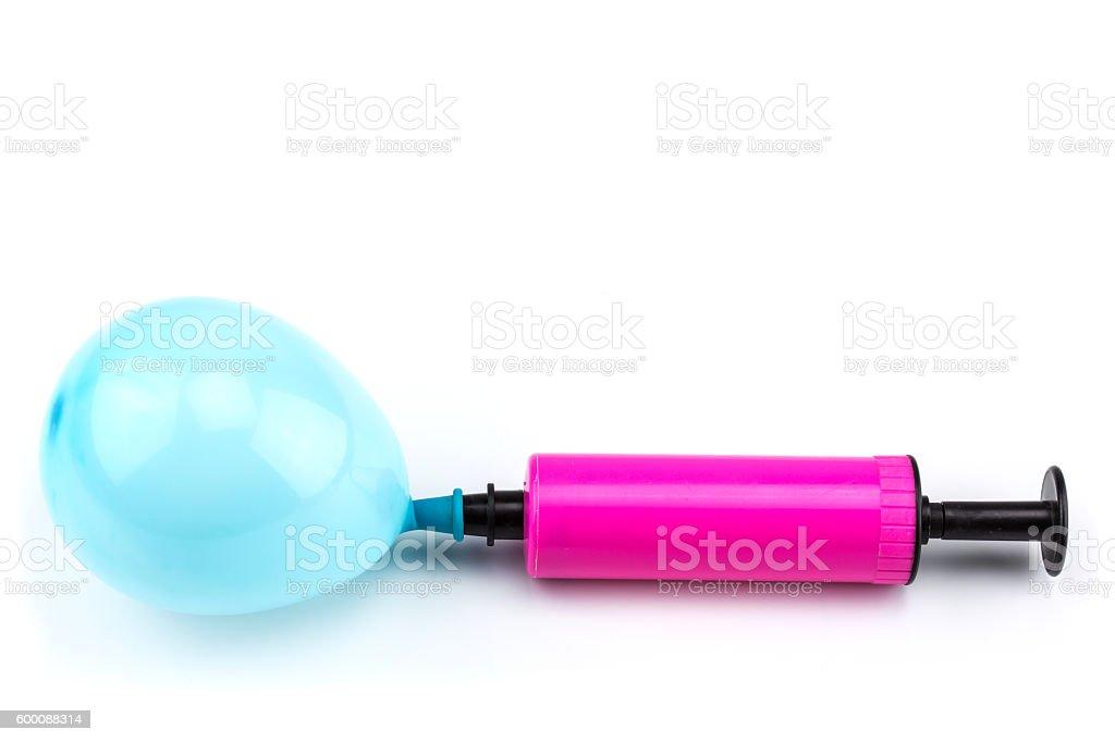 Air pump with balloon – Foto