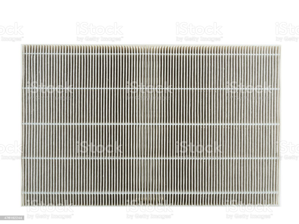 Air purifier carbon filter stock photo