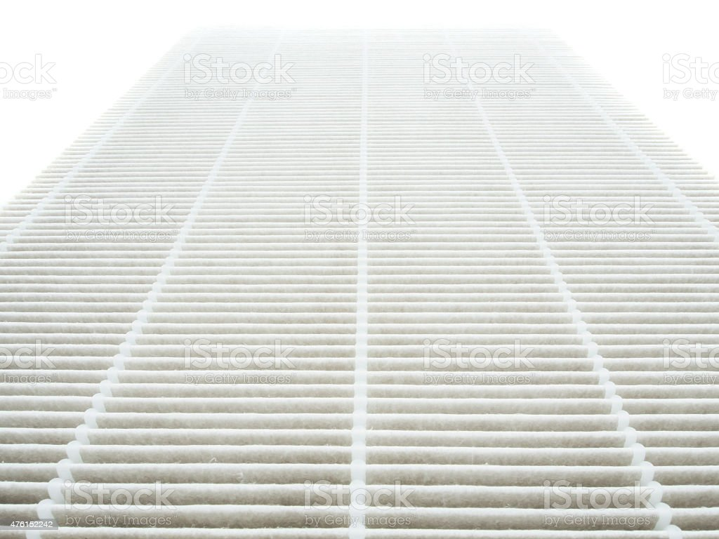 Air purifier  filter stock photo