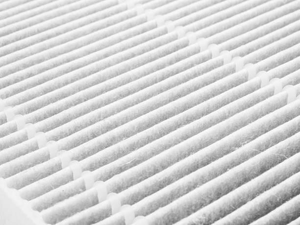 Air purifier filter stock photo