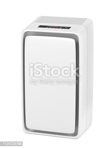 177118473 istock photo Air purifier 1124223765