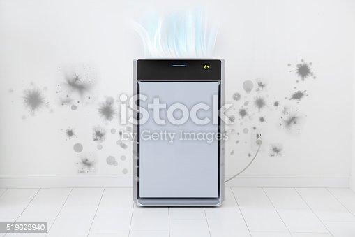 177118473 istock photo Air purifier 519623940